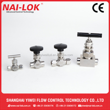 Swagelok type valve needle valve high pressure needle valve