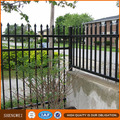 2.1m(H)x2.4m(W) Hot galvanized & Powder coated wrought iron steel fence