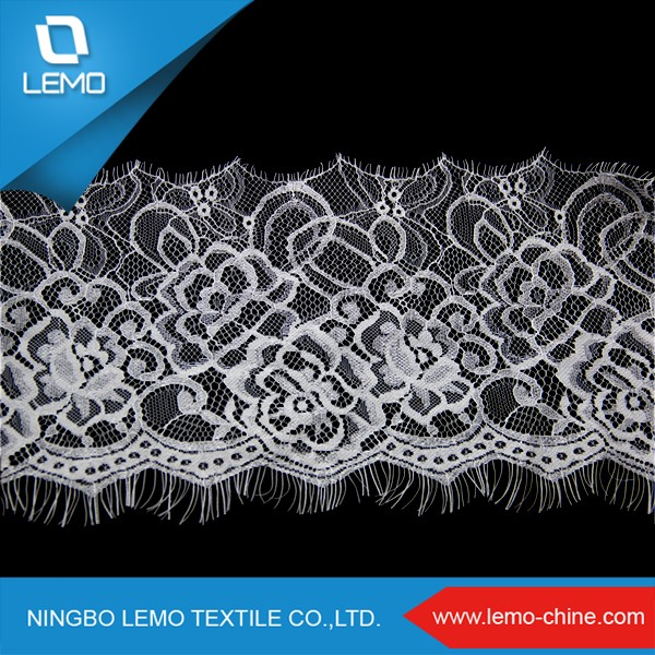 Eyelash Embroidery Lace Trim, Italian Lace Fabric