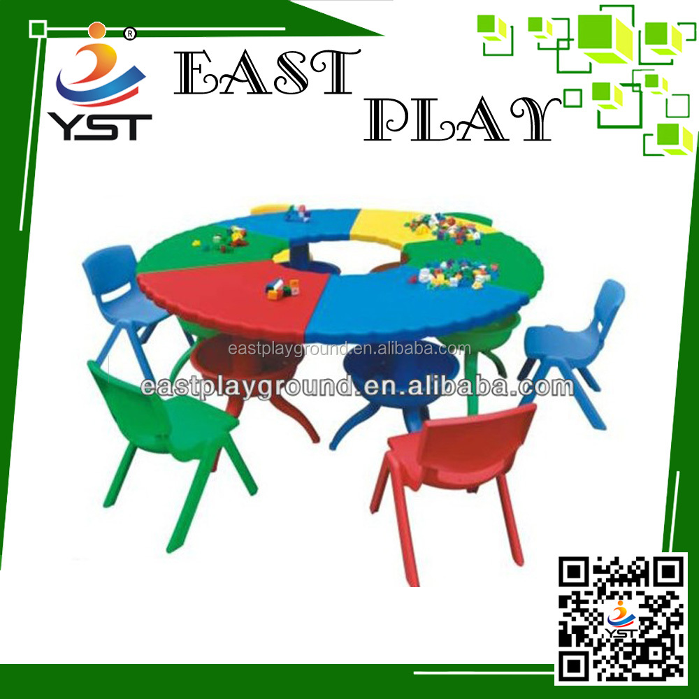 Children desk and chair/cartoon school desk,school furniture