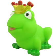 Hot Sale Promotional Floating Prince Bath Rubber Frog