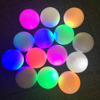2016 Promotional newest High-quality flashing golf ball(LED golf ball)