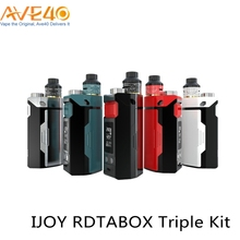 2017 New Arrivals Vape Kit Express 240W Output Wattage IJOY RDTA BOX Triple Kit With 510 Connector Vaporizer Tank