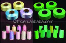 Beautiful Glow in the dark polyester embroidery thread cone wholesale