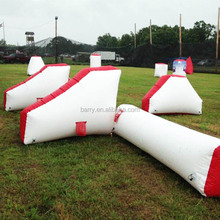 Air sealed cheap price inflatable paintball arena , inflatable paintball