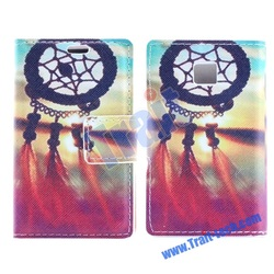 Sweet Dreamcatcher Flip Leather Case for LG E400 Optimus L3