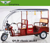 2016 cheap price model SAHA battery operated rickshaw with high quality tuk tuk in india market from qiangsheng