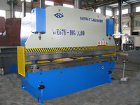 WC67Y-100T3200 hydraulic, cnc sheet bending machine press brake