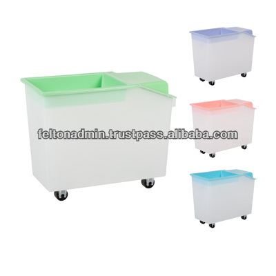Felton multipurpose storage bin with wheel