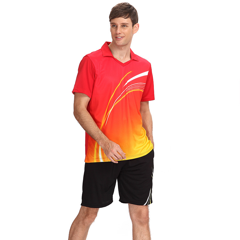 Factory wholesale high quality sport badminton uniform
