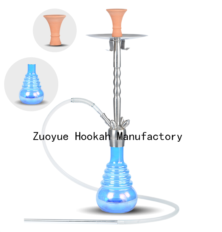 high quality Manufacturer Hookah Click System Stainlesss Steel Hookah