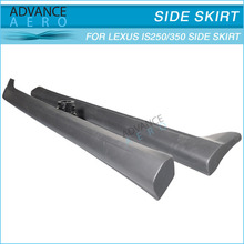 FOR 2009 2010 LEXUS IS250 IS350 PU IN-S STYLE SIDE BUMPER LIP SPOILER