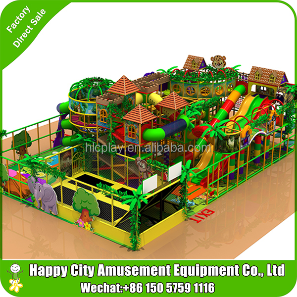 Amazing!!! Big children indoor playground amusement park toys