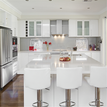 Semi custom kitchen cabinets online with wooden dowles and glass crystal curtain holder
