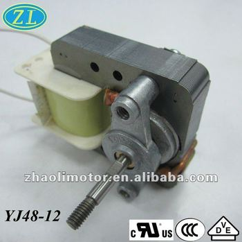 Shaded pole oven fan motor yj48 12 high rpm low torque for Low rpm air motor
