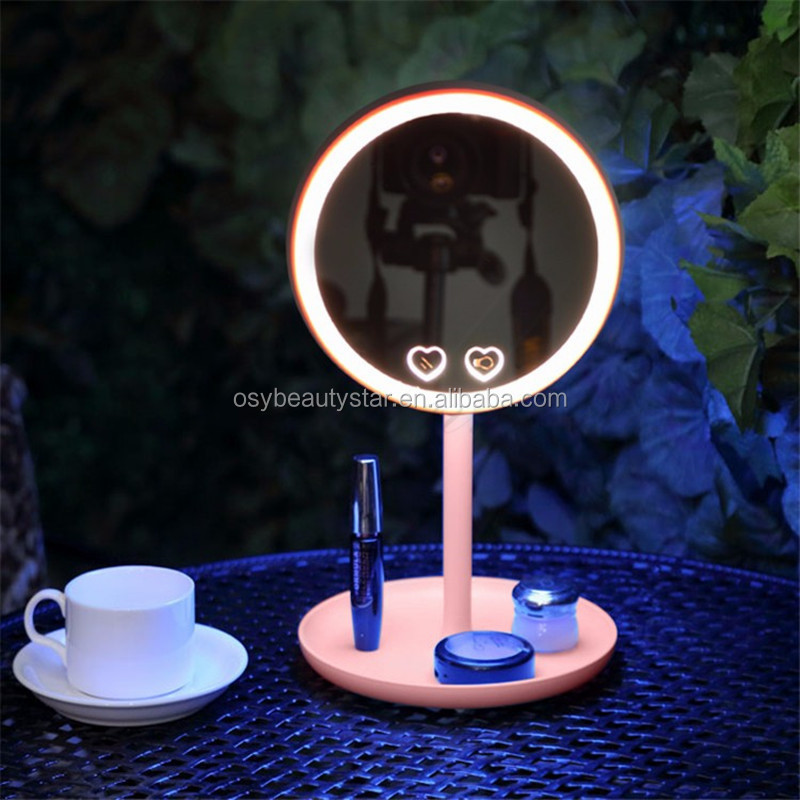 Fashionable Promotion Single Side LED Make Up Mirror Cosmetic Lighted Mirror
