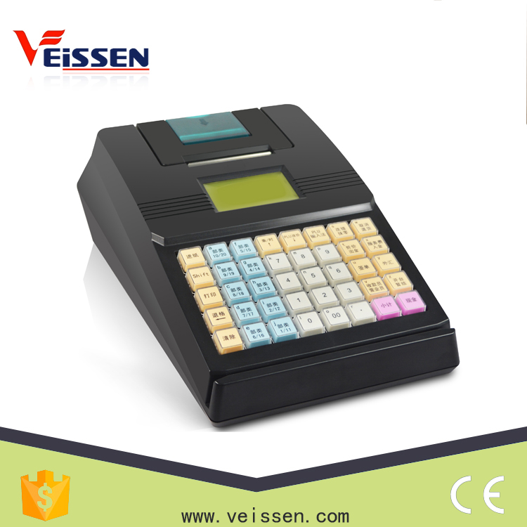 fiscal cash register cash machine thermal paper electronic cash register