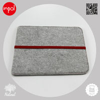 2013 OEM/ODM for ipad 1/2/3/4 accessories customized DIY wool felt shell sleeve