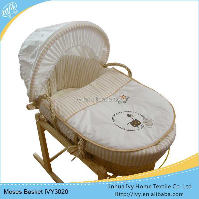 ODM baby basket set antique baby furniture