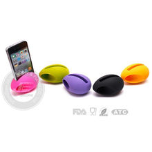 Promotion Easy take Mini Silicone speaker for iphone factory