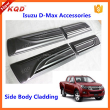 spare parts d max side molding body cladding for d-max car Body Claddings for dmax 2015