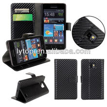 For Samsung galaxy S2 i9200 leather case