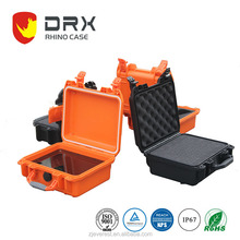 Plastic durable hard indurative handheld tire repair kit case with IP68 waterproof