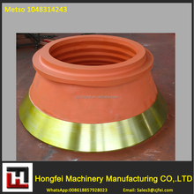 High quality METSO HP300 concave and mantle for cone crusher