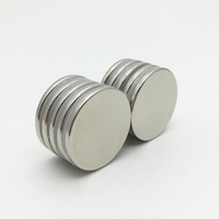 China Supplier Strong round D16x2mm neodymium magnet sheets