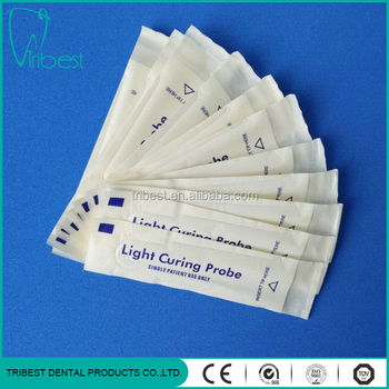 Light curing probe plastic sleeve
