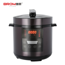 China manufacture stainless steel black coating pressure cooker