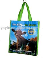 Eco-friendly recycled PET tote bags