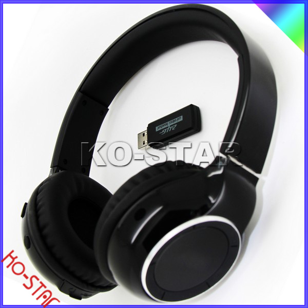 KO-STAR, NEW product, Silent Disco/party Uhf/2.4G/rf Wireless Headphone/headset With Transmitter
