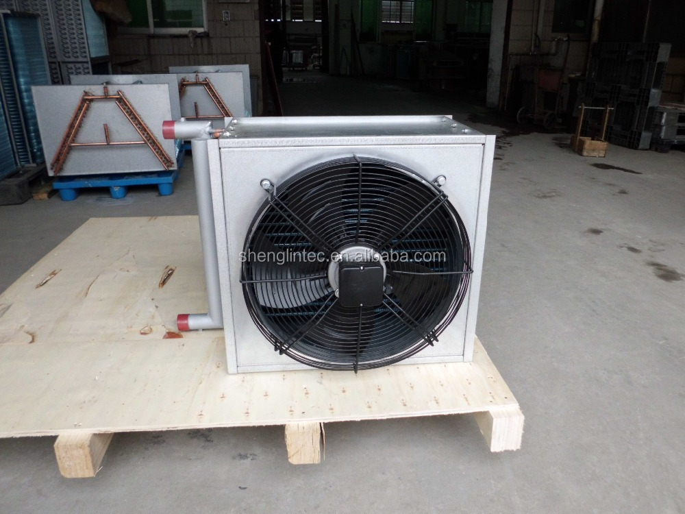 China Shenglin customized 15.88*75*25 copper tube condenser coil for freezer