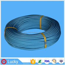 Multi Layer Colored Nylon Woven Stainless Steel Wire Braided Teflon Liner Coiled Tube for Brake Hose