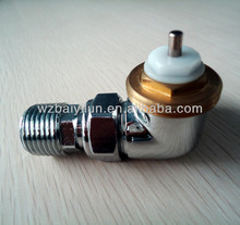 UK 3 way thermostatic radiator valve