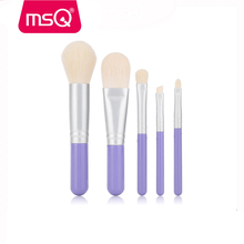 MSQ 5pcs Makeup artist beauty tools Portable makeup brush set 5pcs eyes makeup kit