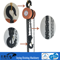 Tackle and block HSZ types of 2000kg chain pulley block