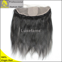 can be dyed and bleached,bleached knots 13x6 lace frontal,human hair lace frontal piece,kinky straight lace frontal