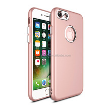 2018 PC material oil painted TPU antifinger hand make leather cell phone case for Iphone 8 plus