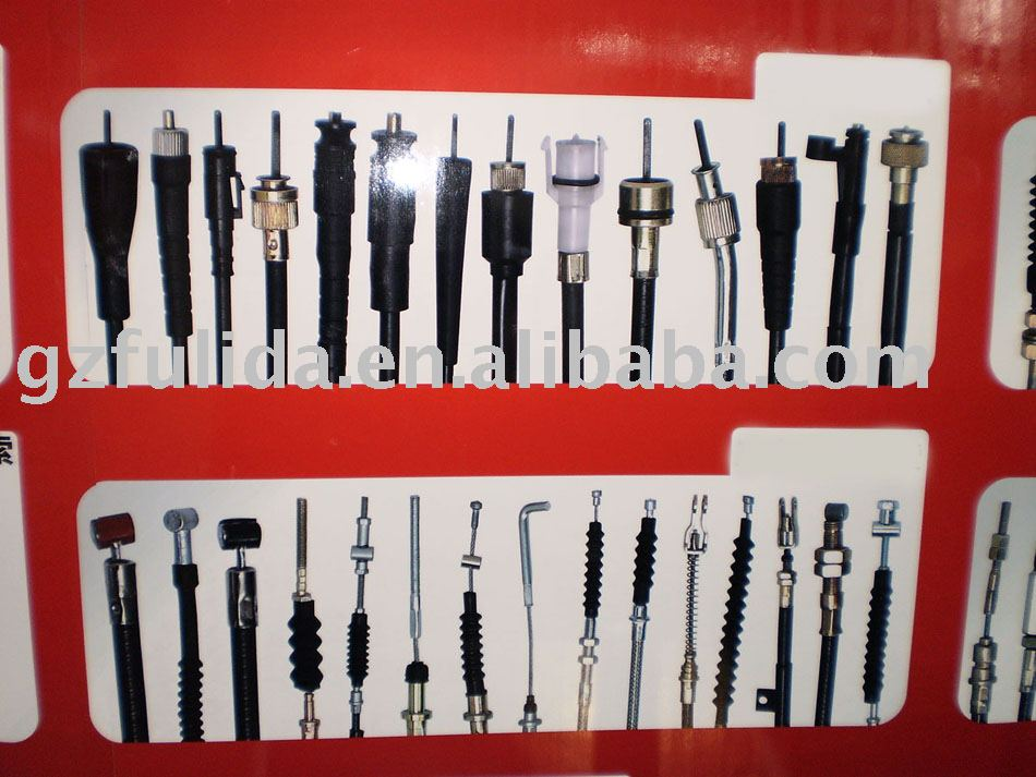 Spare parts for the motorcycle control cable available for the Hongda,Bajaj,GN,CG,GS,Yamaha