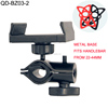 Phone Holder Manufacturer Wholesale Motorcycle Bicycle Handlebar Mount Clip Bike Phone Holder With Safe Band