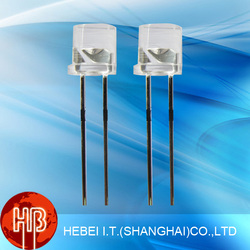 5mm Super bright Flat Top Led (Wide Angle)
