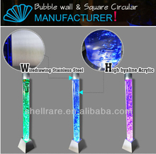 water bubble light tubes / color changing bubble lamp / bubble fountain floor standing