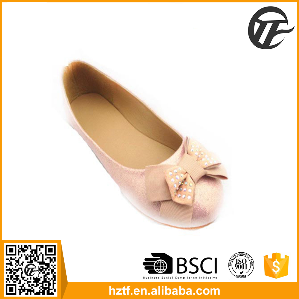 High quality new products ladies leather soles flat shoes making supplier