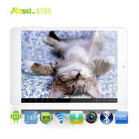 IPS Screen- tablet pc components 7.85inch HD 1280*800 quad core Ram 1GB Rom 16GB