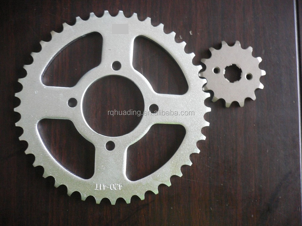 CD70 Transmission Kit for Motorcycle, 41T/14T Sprocket Wheel 420/104L Chain , Good Motorbike Spareparts