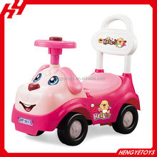 Lovely dog hengtai baby car toys With airbag steering wheel BT-003582