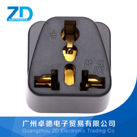 Travel adapter with indicator
