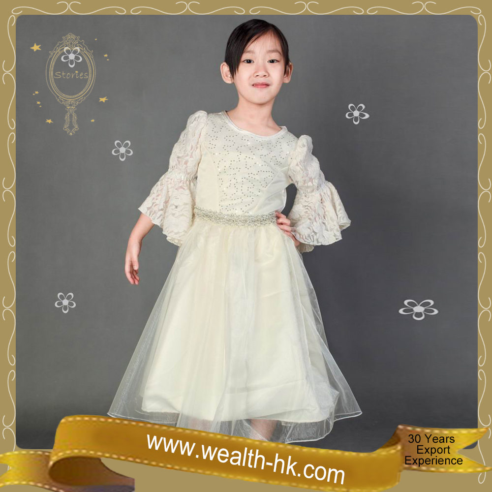 Europe Style for girls kids Cocktail Evening Ball Gown Costume Dress